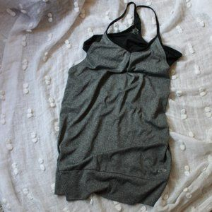 Champion Racerback with built-in Sports Bra Size M